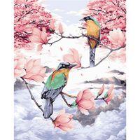 Dipinti Amtmbs Animal Bird Flowers Flowers Picture Painting by Numbers Kits FAI DA TE Pagina dipinta a mano su tela Colorare Home Decor