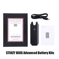 Stiiizy Biiig Advanced Premium Vaporizer Starter Kit 550mAh Rechargeable Battery Vape Pen Wit USB Cable For Thick Oil Pod