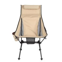 Tragbarer Camping-Strand-Stuhl Lightweight Folding Fishing OutdoorCamping Outdoor Ultraleichte Orange Rot Dunkelblaue Stühle Lagermöbel