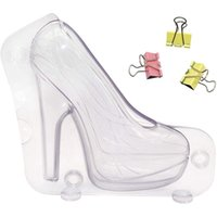 High Heel Chocolate Mold Shoe Candy Birthday Cake Molds Platform Large Baking & Pastry Tools
