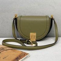 Designer Handbags Saddle Lady Bags Half Month Crossbody Bag Fashion Genuine Leather Shoulder Handbag Classic Fp Over Wallet Multiple Colors bb XYM