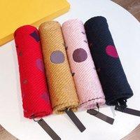 Мода шарф зимняя шерсть дизайнерские шарфы для мужчин женщин шаль длинная шея 4 цвета высоты качества