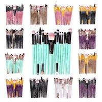 15 قطع فرشاة ماكياج التجميل مجموعة للوجه المكياج أدوات فرشاة المرأة الجمال المهنية مؤسسة استحى ظلال كاديلر