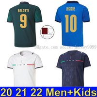 Player fans version Italy 2021 2022 soccer Jersey home away ...