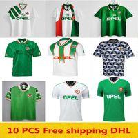 Qualität auf Lager 1990 1992 1994 1996 Retro Irland Fussball Jersey 90 92 94 96 Home Away Vintage Football Hemd S-2XL