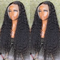 Brazilian 30 32 Inch Curly 13x4 Front Hu Hair Deep 5x5 Closure Wigs Water Wave 13x6 Lace Frontal Wig Remy