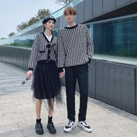 Women's Hoodies & Sweatshirts Autumn And Winter Lovers' Wear 2021 Student Versatile Wool Korean Version Of Loose Knit Clothes Over Couples