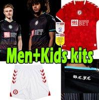 2021 2022 Bristol Şehir Futbol Formaları Robins Paterson Wells Semenyo Martin Weimann 21/22 Erkekler Çocuk Kitleri Maillot de Futbol Gömlek