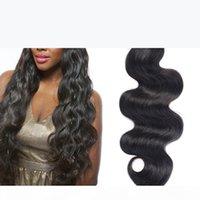 موجة الجسم الرطب متموجة الشعر البشري قطعة واحدة حزمة رخيصة الإنسان حزمة الشعر الطبيعي الأسود مزدوجة تعادل ينسج الشعر رخيصة الشعر
