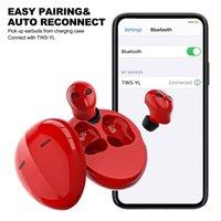Tws Bluetooth 5.0 Kopfhörer Ladebox Stereo Sport WLAN-Kopfhörer Freisprecheinrichtung Kopfhörer Ohrknospen mit Mikrofon