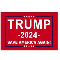 11 designs direkte fabrik 3x5 ft 90 * 150 cm Speichern Sie Amerika wieder Trump FLAG für 2024 Präsident OWC6797