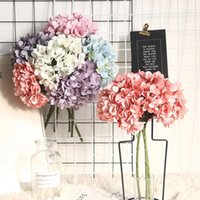 الزهور الاصطناعية الحرير الكوبية الزخرفية زهرة facflowers العروس باقة الزفاف ديكورات المنزل 6 ألوان اختياري GWB6001