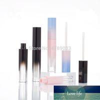 10 30pcs Gradient Pink Black Empty Lip Gloss Tube Lips Bottle Brush Container Mini Refillable Lipgloss Bottles Beauty Tool