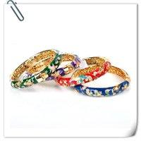 Bracelet Cloisonne Femme Vent National 18kgp Bracelet avec accessoires de mode rétro bijoux pour 1 pcs