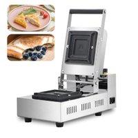 220V 110V Commercial Ice Cream Donut Sandwich Maker Italian Brioche Bread Krapfen Warmer Machine Burger Press Maker