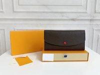 Diseñadores de lujos de alta calidad de polvo Monederos de billetera Monedero de moda Monedero de monedas Emilie con tarjeta Monogrames original Caja Bolsa Bolsa Stoa