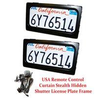 2 plaques / set US Standard Electric Stealth Stealth Plaque Cadre Kit à distance Voleur de cache-refuge