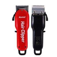 2021Hair Clipper Barber Shop Salon Professionale Capelli Trimmer ricaricabile Capelli elettrici Taglierina per capelli Rasoio KM-706ZFactory Direct