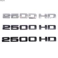 3D 2500 HD Lettes 자동차 펜더 리어 엠블럼 스티커 배지 Chevrolet Silverado 2500HD GMC 시에라 액세서리