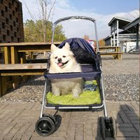 Dog Car Seat Covers Pet Stroller Cat And Outing Carrying Cart Large Light Portable Folding Absorber Outdoor Travel