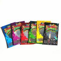 Instock MediaCated Dunk Gummies Mylar Paketleme Çantası 500mg Kilitli Çantanabilir Şeker Baggie Smockl Proof Edibles Paketleme Çantaları Perakende