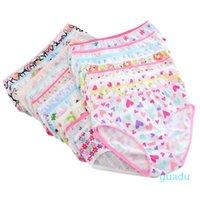 2021 Fashion New Baby Toddler Girls Soft Biancheria intima in cotone Mutandine per ragazze Bambini brevi slip bambini mutande
