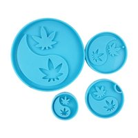 Craft Tools Tai Chi Cup Mat Epoxy Resin Mold Phone Sticker Decoration Silicone Mould DIY Crafts Jewelry Keychain