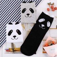 Adult Size Animal Crew Short Ankle Lovely Spring Autumn Cartoon Panda Socks 3D Printed Ankle-High Cute Socks