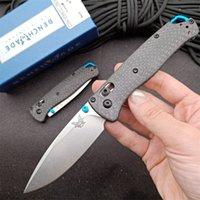Benchmade BM 535-3 carbon fibre handle Tactical folding knife s90v blade camping outdoor Tactical Combat Self-defense knife BM 535 537 9400