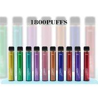 E cigarette Original Iget XXL 1800 Puffs Disposable Pod Device kits Vape Stick Pen Vapor Kit VS Air Bar Gunnpod 100% High Quality Bang Pro Switch Elf