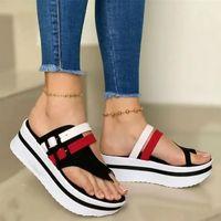 Puimentiua plataforma plataforma cunha chinelos mulheres sandálias 2020 novo fêmea sapatos moda sapatos de salto home de verão slides de verão chinelos mulheres ssigtewtrhfgxzvhn