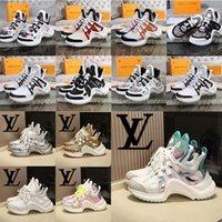 2021 Arclight Sneaker Luxurys Designers Womens Shoes Treinadores Altura Aumentando Mens Mostrar Designer Sapato Casual com Caixa Tamanho 35-44