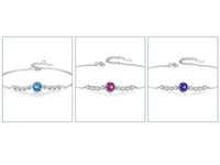 Dropship 925 Herz des Meeres Sterling Silber Marke Schmuck für Frauen Kette Klee Armband Praty Hochzeit Armbänder BS4745 High