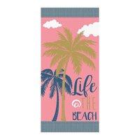 Toalla Playa Microfibra Toallas de baño de verano EEUU Reino Unido Bandera Piña de coco Impresión para adultos Home Textile 70 * 140