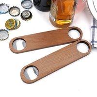 Großer Holzgriff BARTENDER Flaschenöffner Wein Bier Soda Glaskappe Flaschenöffner Küche Bar Werkzeuge GWB8206