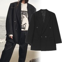 21FW Europe USA Autumn Winter sleeves silicone Suits high quality Men casual Outwear Blazers Coat