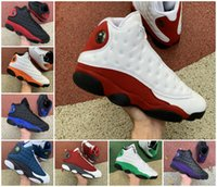 Hombre 13s Zapatos de baloncesto Jumpman 13 Corte Púrpura Revierte Criado Obsidian Hyper University Gold del Sol Starfish Gym Flint Gris Grey Playground Sneakers