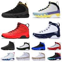 Ayakkabı Nike Air Jordan Retro 9 Jordans Jumpman 9s Erkek Basketbol Ayakkabıları IX Motorboat Jones Change The World University Gold Gym Red Dream it do it Space Jam Eğitmenler