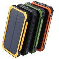 Hight Quality Tollcuudda 20000mAh Solar Powerbank per LG Phone Power Bank Caricabatterie Batteria Portable Pover Bank Powerbank DHL