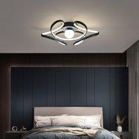ArtPad Nordic Led Chanselier Освещение Современные потолочные фонари для кухни Гостиная Фойевая Спальня Золото / Черные металлические Светильники