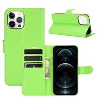 Litchi flip carteira ímã kickstand case à prova de choque anti-choque pu bolsa de couro com suporte capa de slot para iphone 13 pro max 12 mini 11 xr x 8 7 6 6 s mais