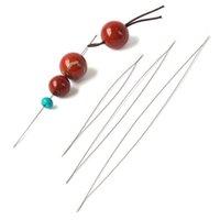 artifact Beaded needle big eye needle tube bottled open needle manual Necklace threading accessories tools
