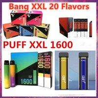 E-cigarros descartáveis Bangpuff 48 Dispositivo de cor 1600 + Bang Bar Mais Xtra E Cigarette Vape Pen 6.5ml Pré-preenchido Authentic IGET XXL 2800Puff Gunnpod
