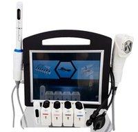 Profesyonel 4D HIFU Makinesi Yüksek Yoğunluk Odaklı Ultrason Cilt Bakımı Yüz Kaldırma Kırışıklık Temizleme Vajinal Sıkma Vücut Zayıflama Salon Spa CE DHL Kullanın