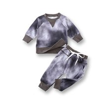Boys Girls Long- sleeved Clothes Two- piece Spring Baby Childr...