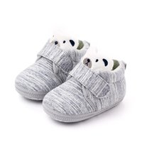 First Walkers Warm Toddler Baby Shoes Boy Girl Fashion Shallow Prints Sneakers