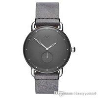 2020 New Brand Mvmt Quartz Watch Lovers Watches Women Men Dress Watches Leather Bracelet Dress Wristwatches Fashion Casual Watches