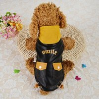 Dog Apparel Clothes Pet Puppy Winter Warm Pocket Hoodie Costume Jacket Coat Supplies Wear-resistant