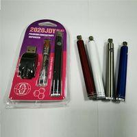 JDY K8 Vaporizer Starter Kit 350mAh Bottom Spinner Preheat VV Battery with Big Chief 1.0ml Cartridge Blister Pack for Thick Oil