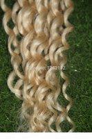 Горячие продажи Bleach Blonde Fusion Change Remy Наращивание волос 100 г Кератин Толстый Я Совет Волос Бразильские Свободные Волны Стрендки